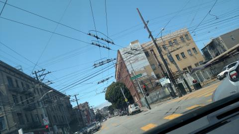 cable car wires