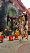 Bobafett Redlands Artwalk