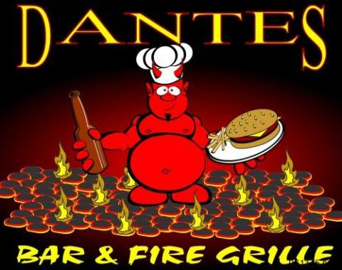 Dantes Bar and Fire Grille logo